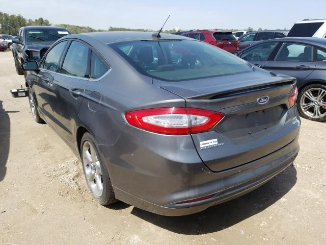 2013 FORD FUSION SE - Right Front View