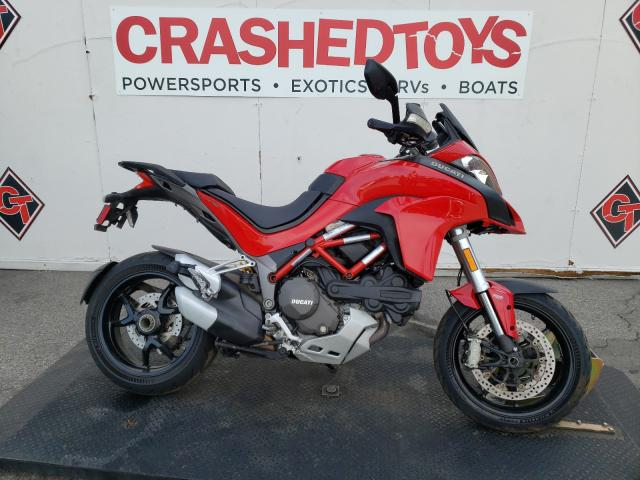 Ducati Multistrad salvage cars for sale: 2015 Ducati Multistrad