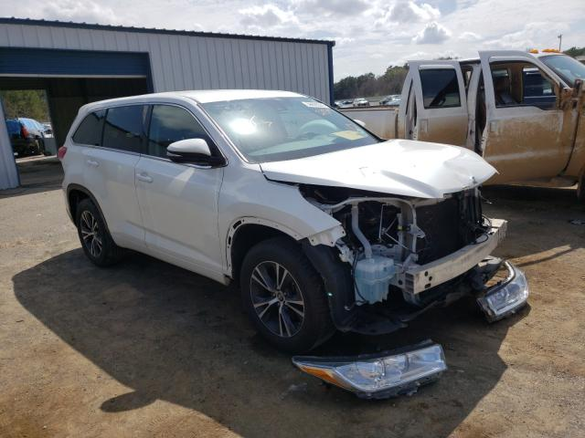Salvage cars for sale from Copart Shreveport, LA: 2017 Toyota Highlander