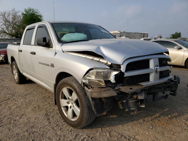 Salvage cars for sale from Copart Mercedes, TX: 2012 Dodge RAM 1500 S