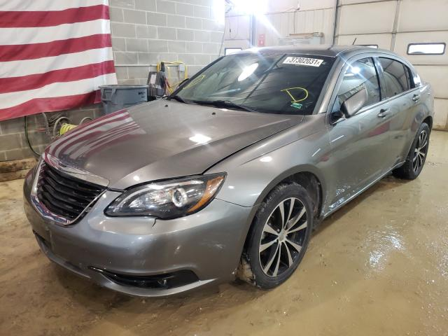 2013 CHRYSLER 200 TOURIN - Left Front View