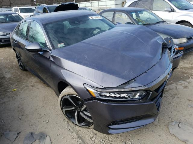 Salvage cars for sale from Copart North Billerica, MA: 2020 Honda Accord Sport