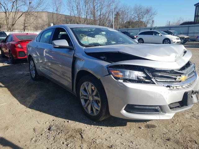Chevrolet salvage cars for sale: 2019 Chevrolet Impala LT