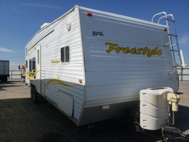 Skyline salvage cars for sale: 2006 Skyline Travel Trailer
