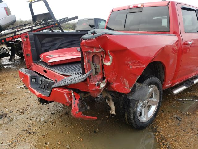 2010 DODGE DR1500 1D7RB1CT9AS126334