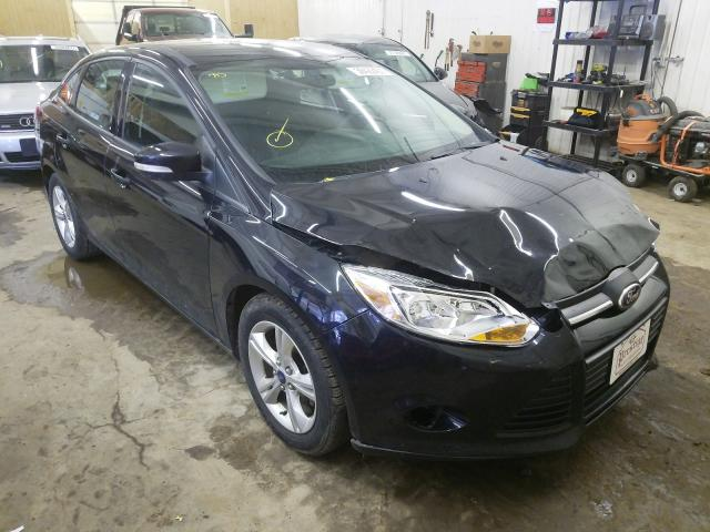 Salvage cars for sale from Copart Ham Lake, MN: 2013 Ford Focus SE