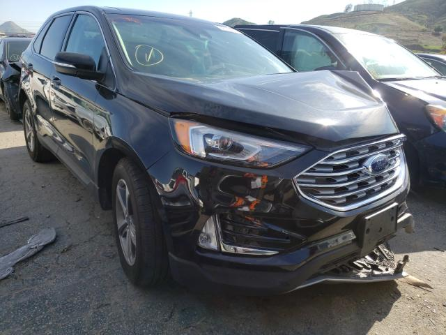Salvage cars for sale from Copart Colton, CA: 2020 Ford Edge SEL