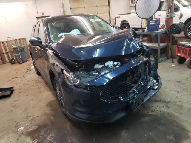 Salvage cars for sale at Ham Lake, MN auction: 2019 Mazda CX-5 Touring