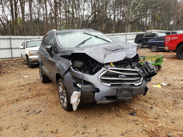 Salvage cars for sale from Copart Austell, GA: 2020 Ford Ecosport T