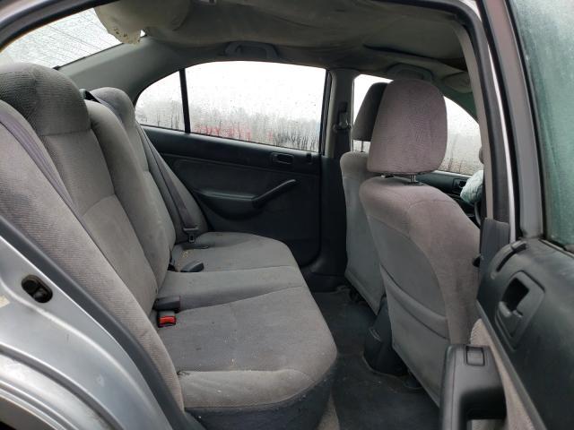 2001 HONDA CIVIC EX - Interior View