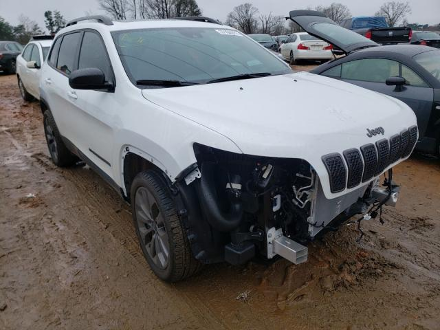 Vehiculos salvage en venta de Copart China Grove, NC: 2021 Jeep Cherokee L