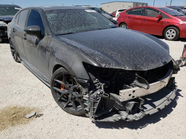 Salvage cars for sale from Copart San Antonio, TX: 2016 Lexus GS-F