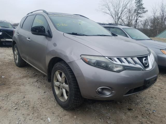 Salvage cars for sale from Copart West Warren, MA: 2009 Nissan Murano S