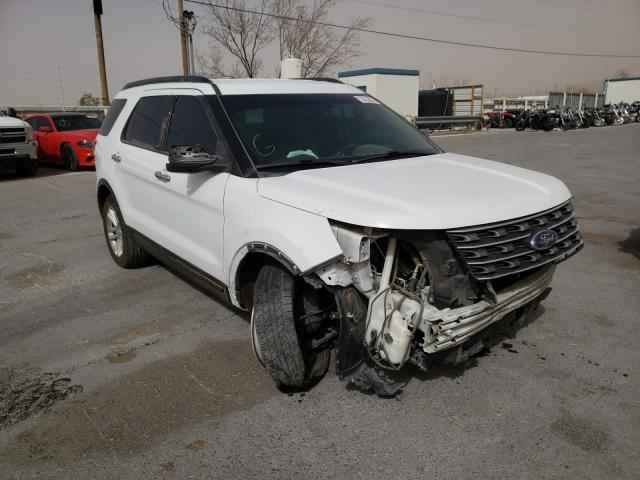 Salvage cars for sale from Copart Anthony, TX: 2017 Ford Explorer