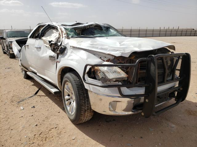 Salvage cars for sale from Copart Andrews, TX: 2014 Dodge RAM 1500 Longh