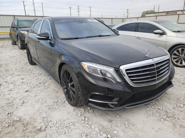 Mercedes-Benz salvage cars for sale: 2015 Mercedes-Benz S 550
