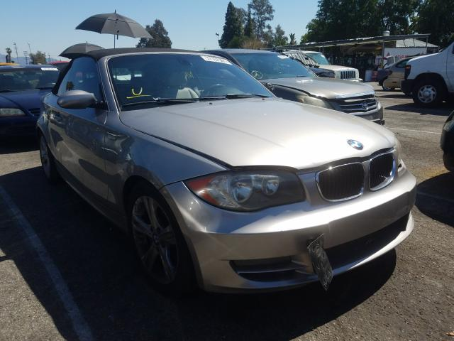 BMW 128 I salvage cars for sale: 2009 BMW 128 I