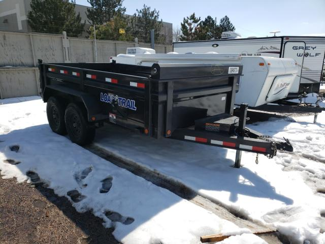 Lodal salvage cars for sale: 2019 Lodal Trailer