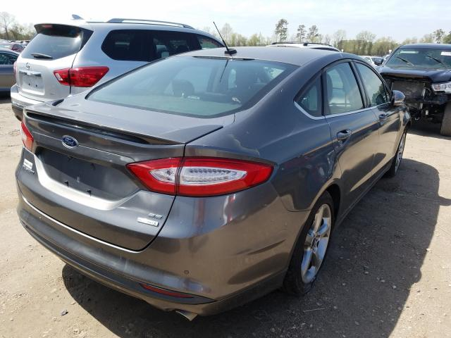 2013 FORD FUSION SE - Right Rear View