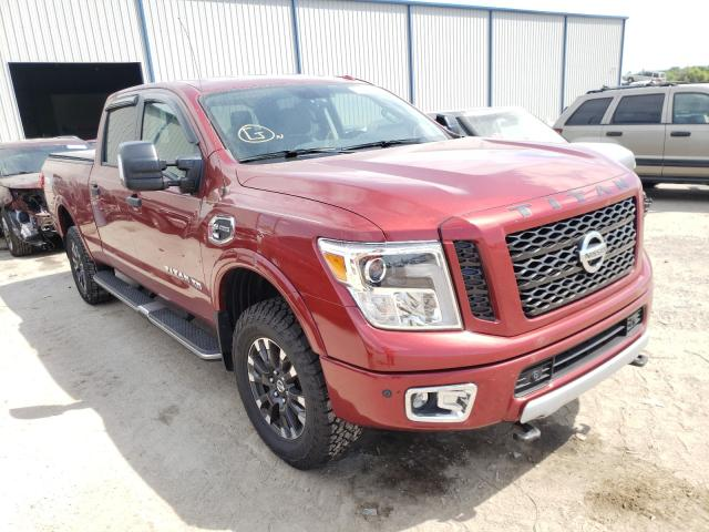 Salvage cars for sale from Copart Apopka, FL: 2018 Nissan Titan XD S