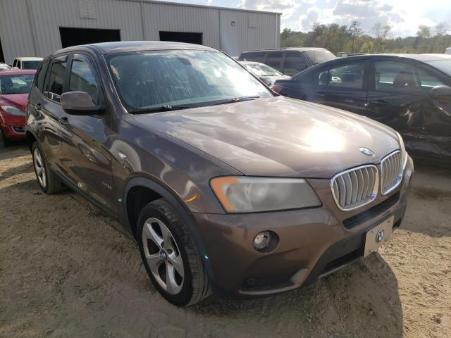 Salvage cars for sale from Copart Jacksonville, FL: 2011 BMW X3 XDRIVE2