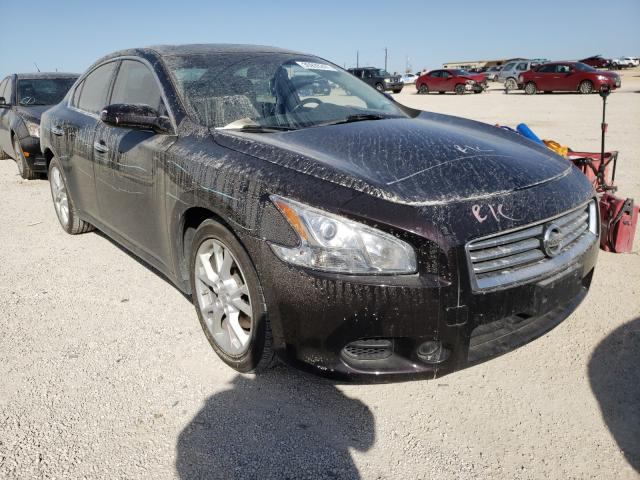 Salvage cars for sale from Copart San Antonio, TX: 2014 Nissan Maxima S