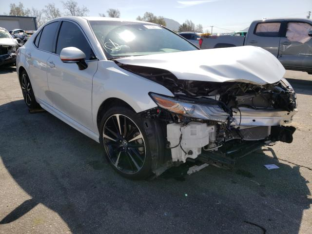Salvage cars for sale from Copart Colton, CA: 2018 Toyota Camry XSE