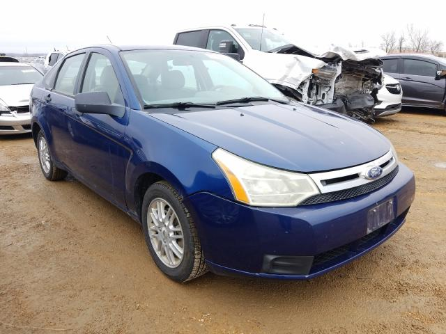 Salvage cars for sale from Copart Bridgeton, MO: 2009 Ford Focus SE