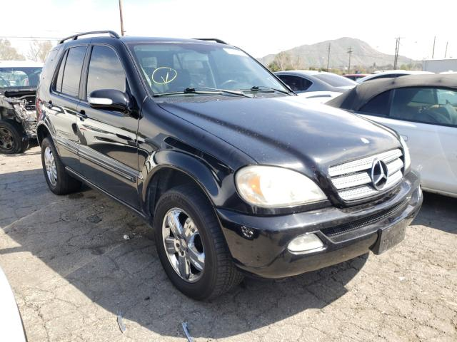 Salvage cars for sale from Copart Colton, CA: 2004 Mercedes-Benz ML 350
