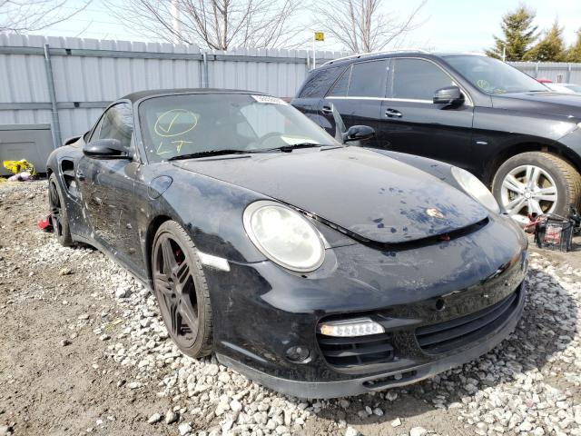 Porsche salvage cars for sale: 2008 Porsche 911 Turbo