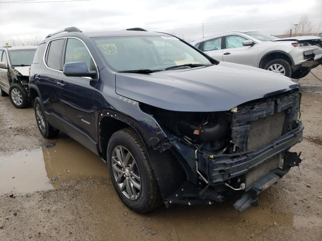 Salvage cars for sale from Copart Indianapolis, IN: 2019 GMC Acadia SLT