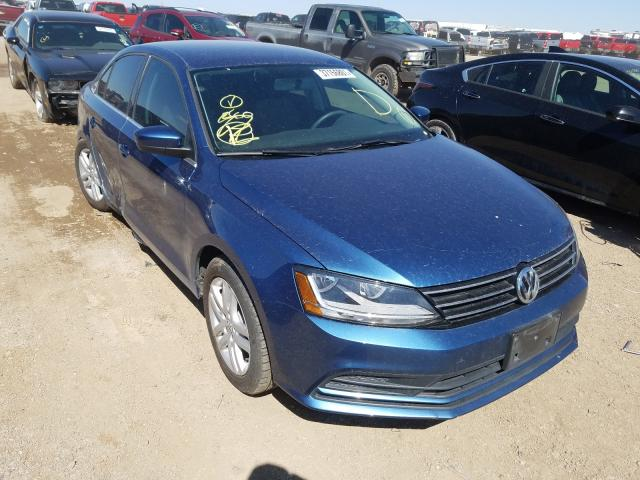 Salvage cars for sale from Copart Amarillo, TX: 2017 Volkswagen Jetta S