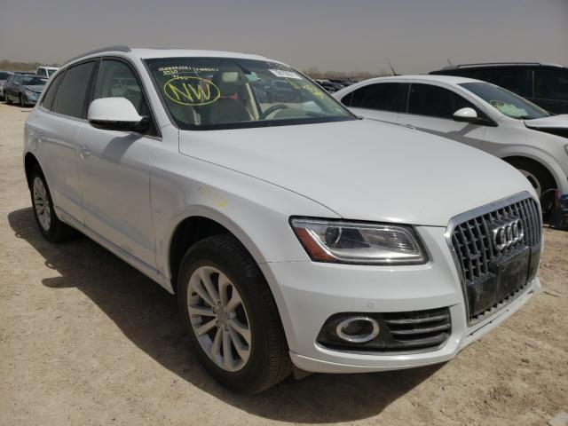 Salvage cars for sale from Copart Temple, TX: 2016 Audi Q5 Premium