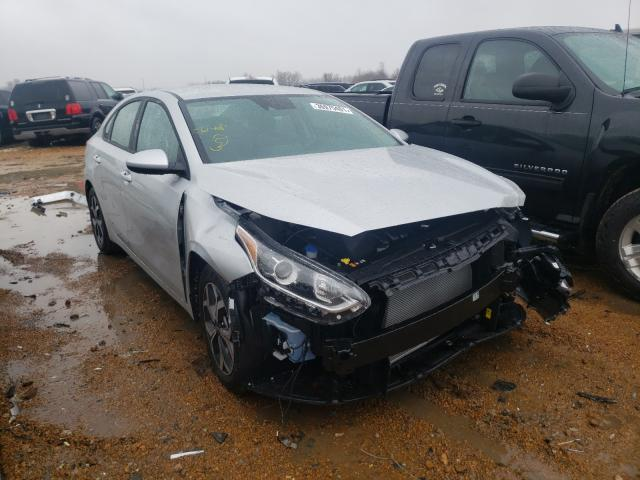 Salvage cars for sale from Copart Bridgeton, MO: 2021 KIA Forte FE