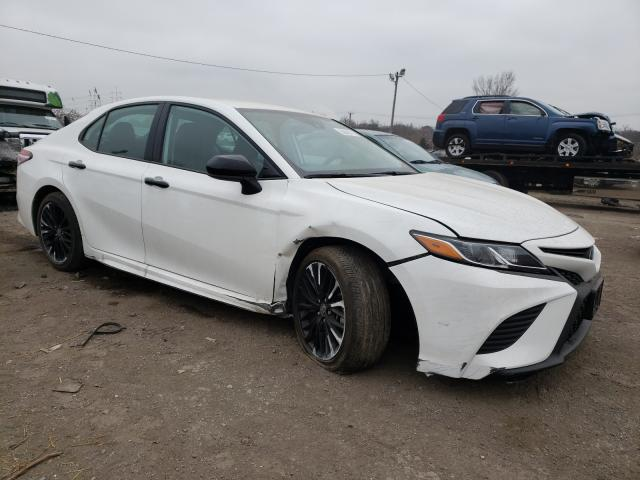 Salvage cars for sale from Copart Baltimore, MD: 2020 Toyota Camry SE
