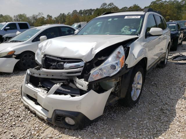 2014 SUBARU OUTBACK 2. - Left Front View