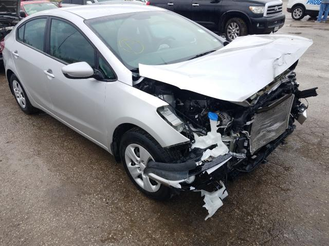 Salvage cars for sale from Copart Bridgeton, MO: 2017 KIA Forte LX