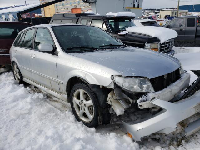 Vehiculos salvage en venta de Copart Rocky View County, AB: 2002 Mazda Protege PR