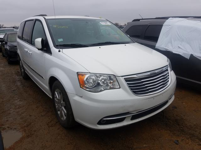 Salvage cars for sale from Copart Bridgeton, MO: 2016 Chrysler Town & Country