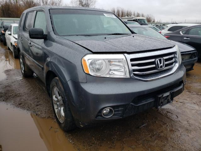 Salvage cars for sale from Copart Pekin, IL: 2012 Honda Pilot EXL