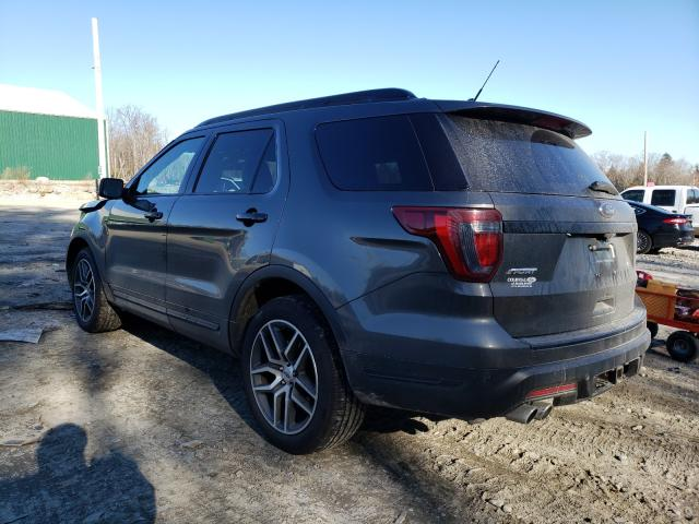 2018 FORD EXPLORER S - Right Front View