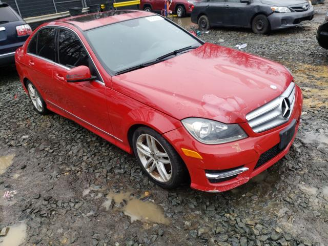 Salvage cars for sale from Copart Waldorf, MD: 2013 Mercedes-Benz C 300 4matic