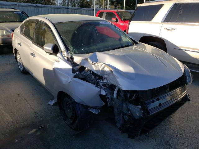 Salvage cars for sale from Copart Savannah, GA: 2019 Nissan Sentra S