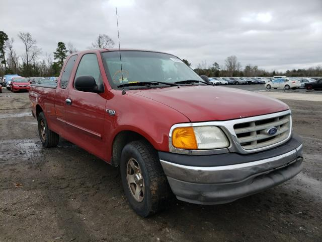 Salvage cars for sale from Copart Lumberton, NC: 2004 Ford F-150 Heri