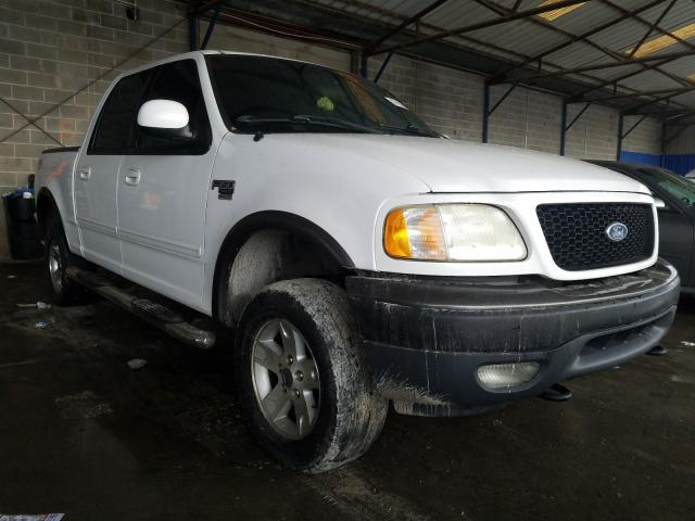 Salvage cars for sale from Copart Cartersville, GA: 2002 Ford F150 Super
