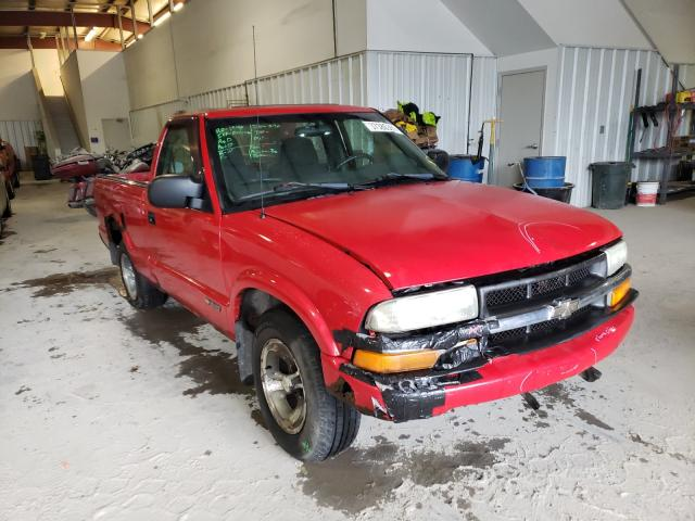 Salvage cars for sale from Copart Ellwood City, PA: 2003 Chevrolet S Truck S1