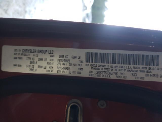 2013 RAM 1500 ST 1C6RR7FT5DS657756