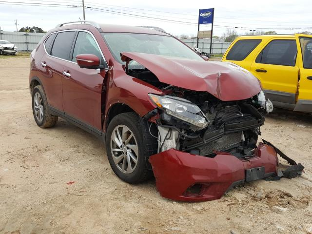 Salvage cars for sale from Copart Newton, AL: 2015 Nissan Rogue S