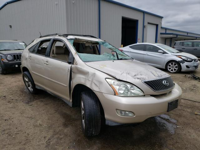 Carros salvage para piezas a la venta en subasta: 2004 Lexus RX 330