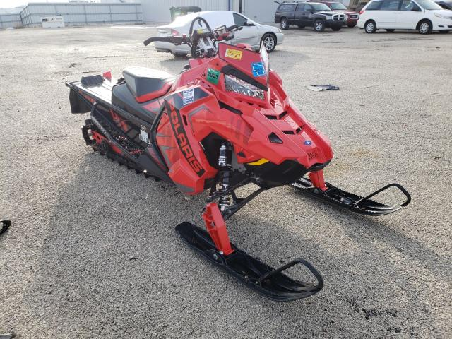 Salvage cars for sale from Copart Milwaukee, WI: 2020 Polaris Snowmobile